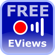 free webinar about the features of the new version of EViews