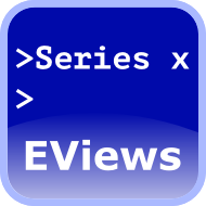 scripting with EViews
